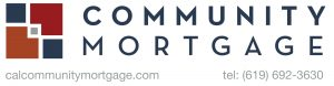 Community Mortgage Logo with phone-website