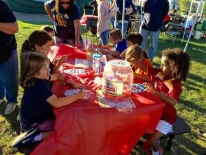 Kids Painting Dia de los Muertos Masks